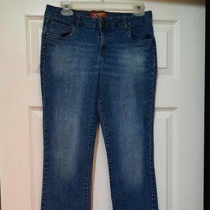 (2/$15) Arizona Jeans  Size 14 1/2 Plus